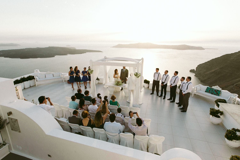 Destination Wedding Santorini - Claudia + Sandro